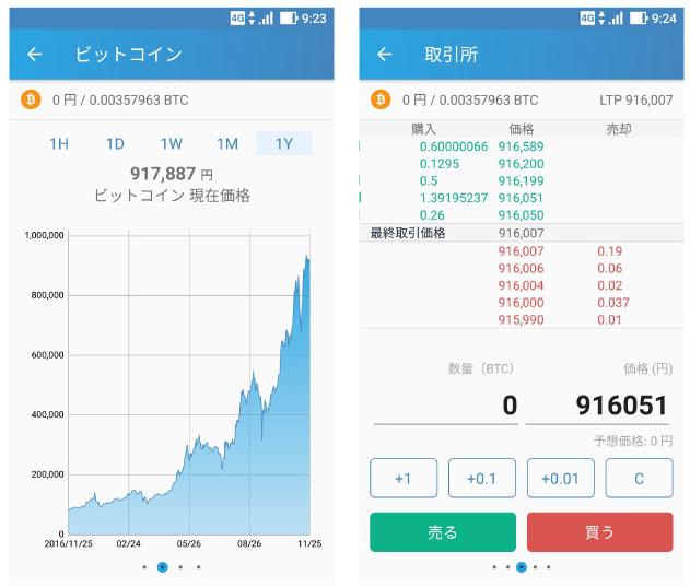 Bitfryerスマホアプリ