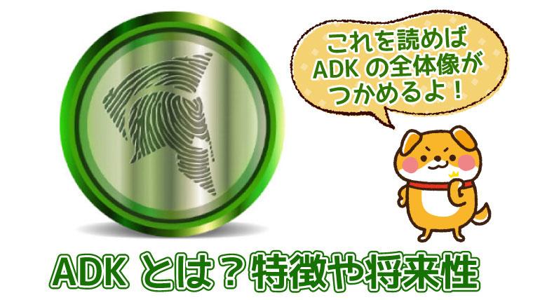 ADKの特徴や将来性