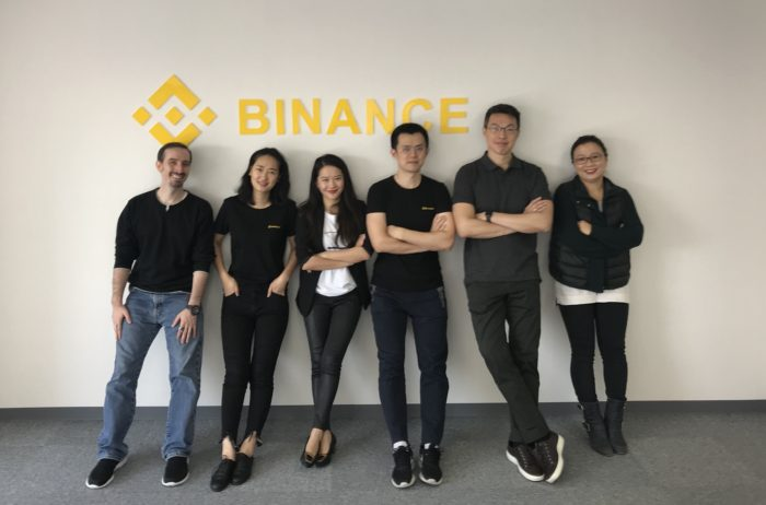 Binance staff