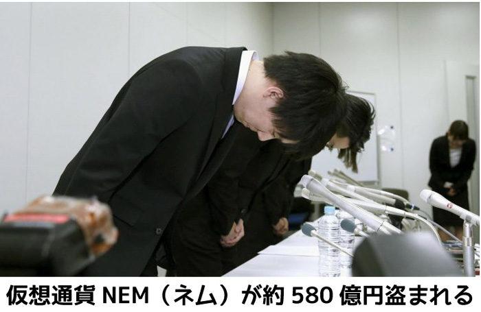 NEMのハッキング事件
