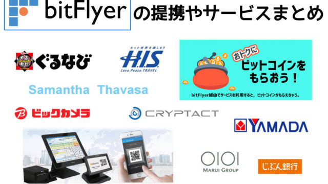 bitFlyerのサービス