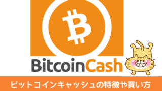 ビットコインキャッシュの特徴や買い方