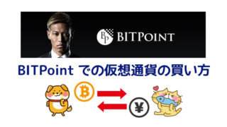 ビットポイントでの仮想通貨の買い方