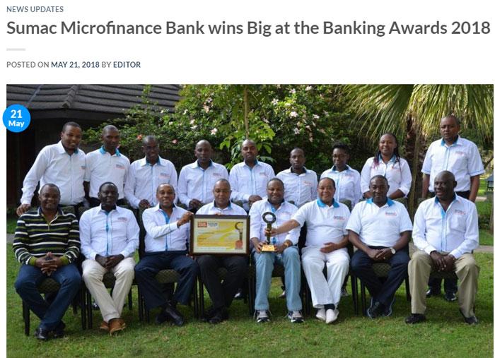 Banking Awards 2018