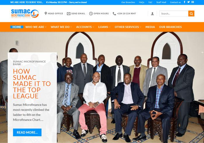 sumac bank ウェブサイト